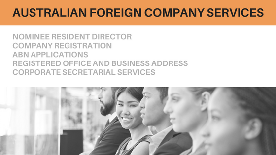 Foreign company services